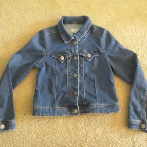 tractr Girls Denim Jacket Size Small GUC